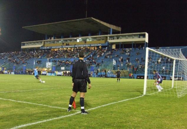El Estadio Burgueño El eje de la discordia. Foto Maldonado.gub