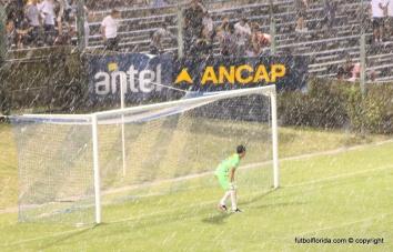 Asi llovía en Paysandú