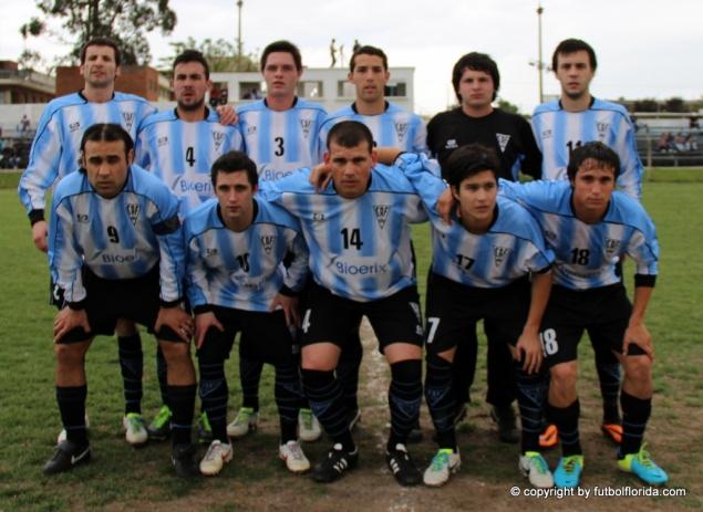 El Club Atlético Florida 19-10-13 cuando venciera a Tabaré