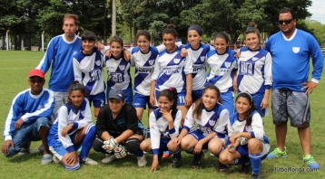 San Jacinto. Campeonas Sub 11. Foto Fanny Ruetalo