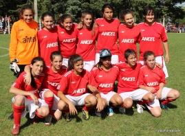 Durazno Campeonas Sub 13. Foto Fanny Ruetalo