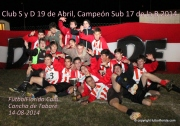 19 de abril campeón Sub 17. Foto Fanny Ruetalo