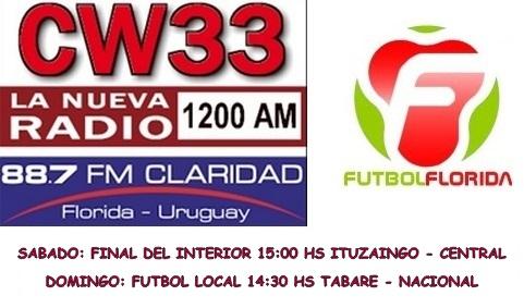 logos radio y futbolflorida 30 y 31 de agosto