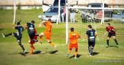 Partidazo en el norte jugaron Wanderers y Central. Foto Jose E Paz