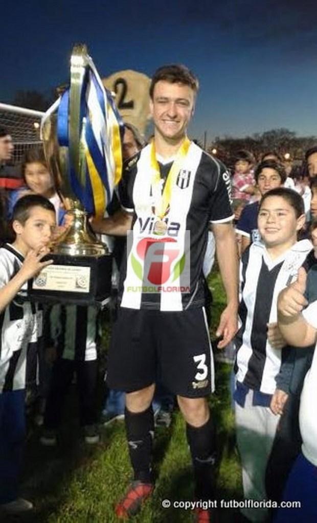 El floridense Matias Castro llegaría a Central por la Copa. Foto Fanny Ruetalo