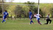 """Andrés Ruetalo a los 5' ya ponía al """"huracán de la calzada"""" 1-0. Foto Fanny Ruetalo"""