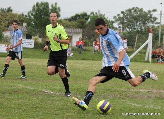 """Diego """"Tabaco"""" Torres es el goleador de Sub 17"""
