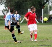 Juan Ferreri rechaza cuando llega Santiago Lapasta a la marca. Foto Fanny Ruetalo