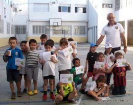 La Escuela de Fútbol de Mauricio Mesa, cerró latemporada