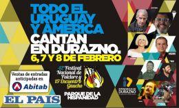 En febrero, todos al Festival deDurazno