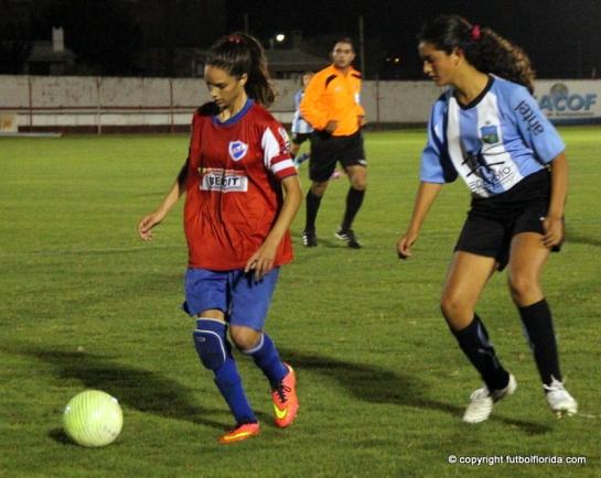 Romina Alanis hizo los 2 goles de Nacional y según Emisora Cono Sur fue imparable para la defensa local
