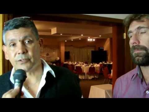 Walter Brajus y Oscar Funggi dirigentes de AIAF