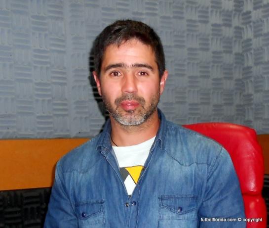 Leo Dolarestuvo en La Nueva Radio. foto Alejandro Balbiani