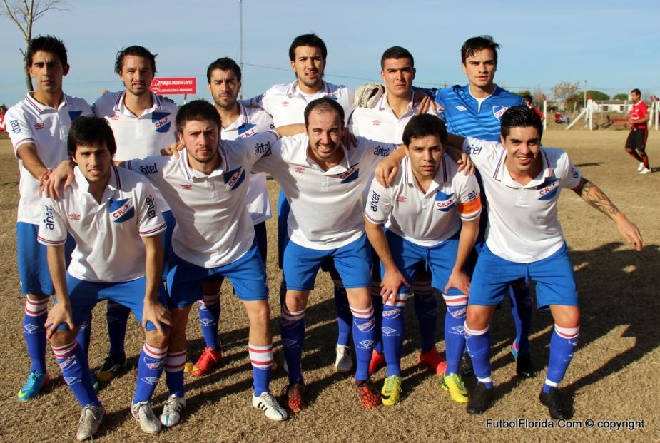 Nacional debutó con victoria en Mendoza. Foto Fanny Ruétalo