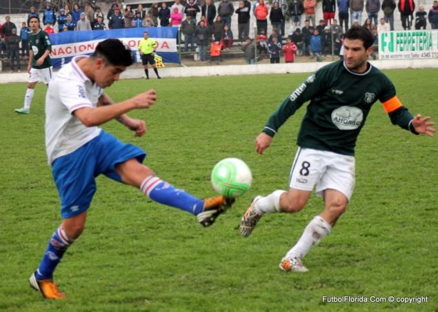 Luciano Acosta de capitán en la Copa al PF de Juventud