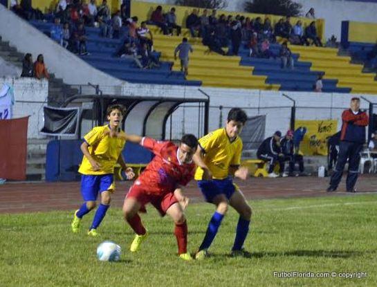 Foto de Victor D Rodriguez del empate Durazno 1-1 Paso de los Toros