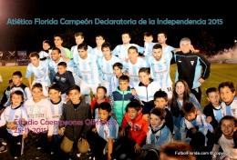 Atlético Florida Campeón Declaratoria2015