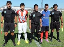 Árbitros revanchas semifinales Sub15