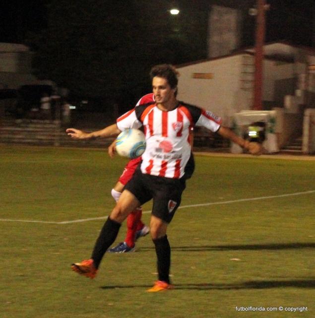 Iturburo va por goles importantes