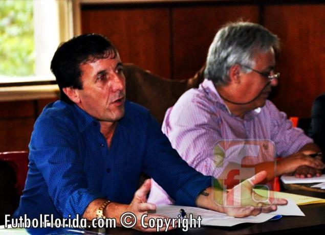 Gustavo Bares y el Gerente Cr Carlos Segura
