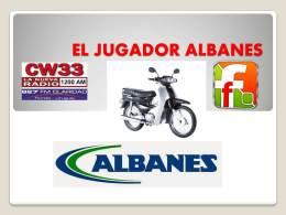 Votando por el JUGADOR ALBANES te podés ganar unamoto