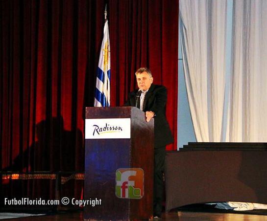 Escribano Wilmar Valdez, Presidente AUF. Foto Fanny Ruetalo