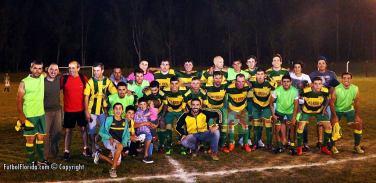 Fraternidad cuando se consagrara campeón en 2016. Foto Fanny Ruetalo
