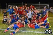 Palermo tiene 18° títulos en la Liga Rochense y 2 en OFI Foto: Daniel Castillos