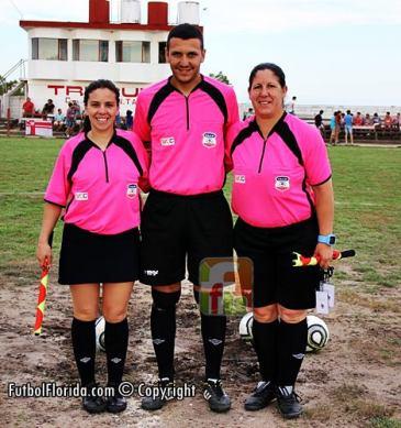 Dany Rodriguez, Maria Piriz y Giovana Funggi