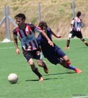 Gonzalo Pereira en el entrenamiento del viernes.
