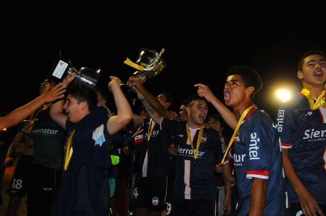 Lavalleja Campeón del Interior Sub 14. Foto Primera Página