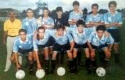 Los juveniles de Flores en 1996.
