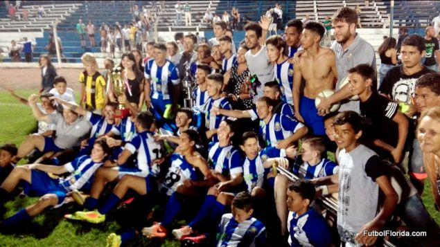 También en Juveniles, Cerro Largo Campeón. Foto Rodrigo Sosa Farías