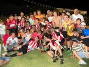 Los campeones del 2012. Foto Javier Piedrabuena