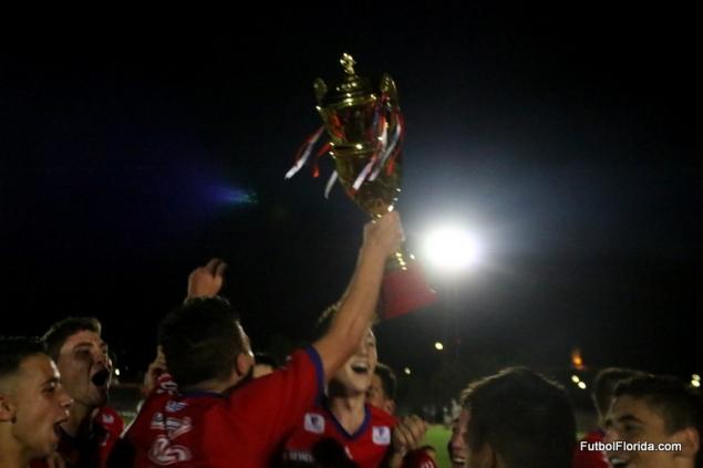 Trofeo arriba y Colonia vuelve a ser Campeón del Sur