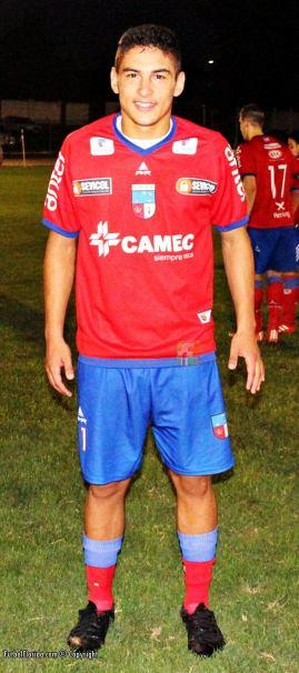 Emiliano Villar metió 4 goles en una final. Foto Fanny Ruetalo