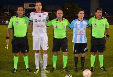 Juan Desiderio, capitanes y asistentes. Foto Ramón Mesias de Paydeportes