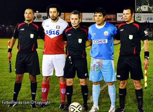 Sergio Liuzzi asistentes y capitanes. Foto Santiago Mederos