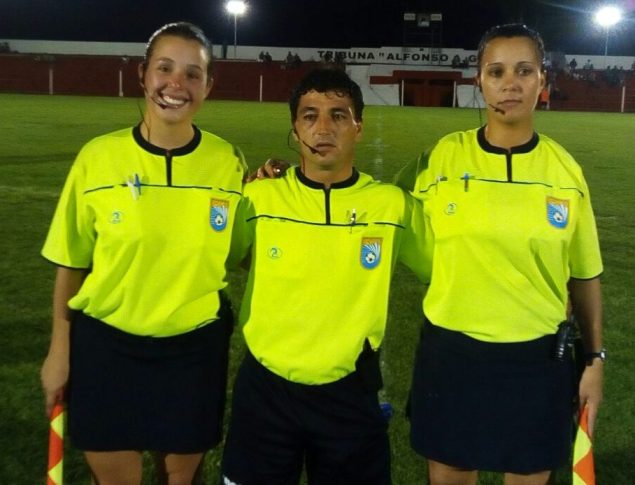 Gerardo Silva, Evelyn Lopez y Verónica Gutierrez. Foto Willan Muñoz