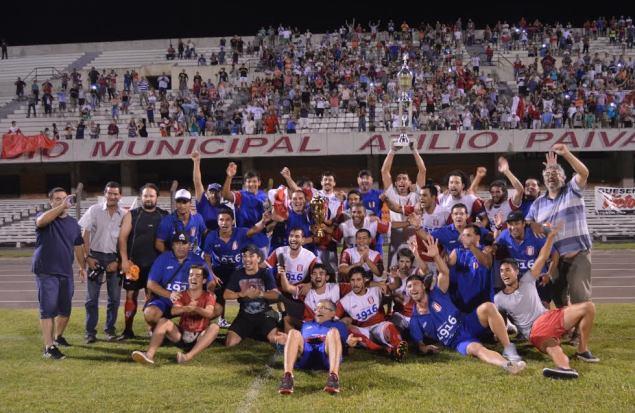 Tacuarembó Campeón del Este. Foto Freddy Silva
