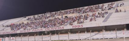 También se habilitó la tribuna norte del paiva. Foto Freddy Silva