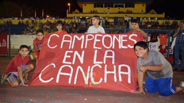 Campeones En La Cancha. Foto Victor Darwin Rodriguez