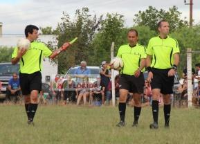 Denis Romero, Fabricio Trezza y Fernando Martinez
