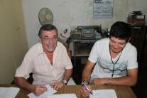 Cono Scavoni y Martin Colombo siempre al firme