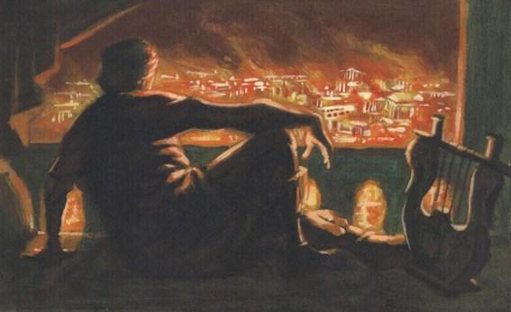 Nerón, el Emperador que incendió Roma