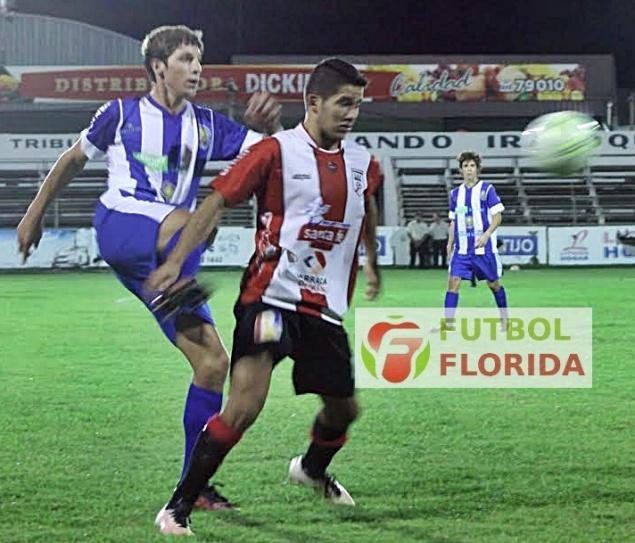 Foto de Miguel Castagnaro del partido Salto 2-1 Cerro Largo