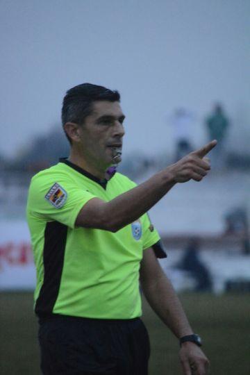 Guillermo Arismendi será será el árbitro del partido Foto Ernesto Hornos
