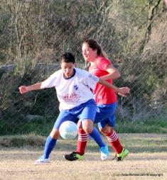 Candil y Nacional juegan por la 2da fecha. Foto Fanny Ruetalo