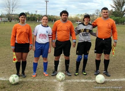 Mario Alanis, Paola Sastre, Cono de Orta y capitanas. Foto Fanny Ruetalo