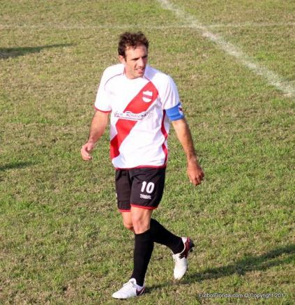 Mariano Rubbo al tope de los goleadores de la B. Foto Emilia Spinelli